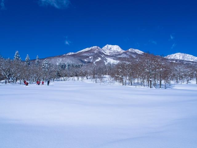 妙高山 (雪景色)