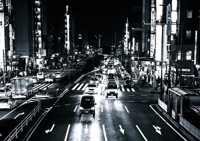 夜間の交通02